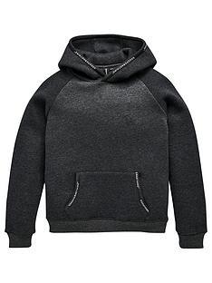 good-for-nothing-boys-logo-overhead-hoodie-grey