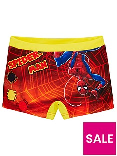 spiderman-boysnbspswim-shorts-orange