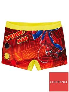 spiderman-boysnbspswim-shorts-orange