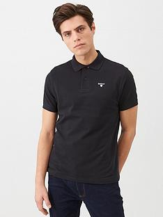 barbour-barbour-sports-polo-shirt-black