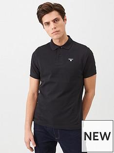 barbour-barbour-sports-polo-shirt-black