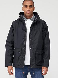 barbour-dolgo-wax-jacket-navy