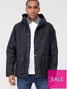 barbour-dolgo-wax-jacket-navy