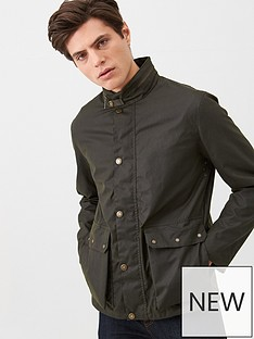 barbour-alma-wax-jacket-olive