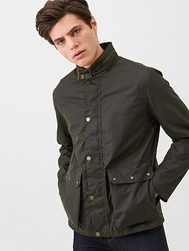 barbour-alma-wax-jacket-olive