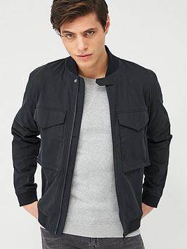 barbour-international-turbo-zip-through-overshirt-black