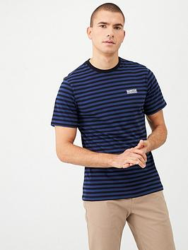 barbour-international-equal-stripe-t-shirt-blue