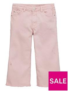 v-by-very-girls-frayed-hem-cropped-jeans-pink