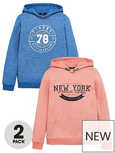 v-by-very-boys-2-pack-printed-hoodies-coralblue