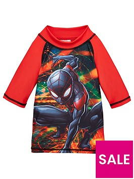 spiderman-boys-swim-long-sleeve-t-shirt-red