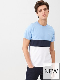 barbour-colour-block-logo-t-shirt