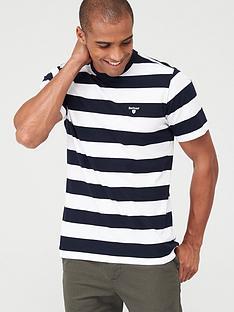 barbour-large-stripe-t-shirt-navy