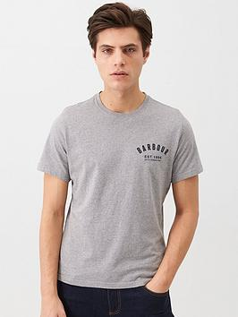 barbour-small-chest-logo-t-shirt-grey
