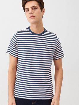 barbour-stripe-logo-t-shirt-pink