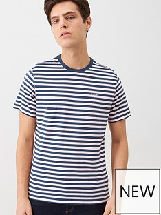 barbour-stripe-logo-t-shirt