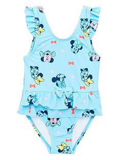 minnie-mouse-girlsnbspswimsuit-light-blue