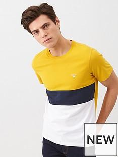 barbour-colour-block-logo-t-shirt