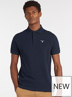 barbour-sports-polo-navy