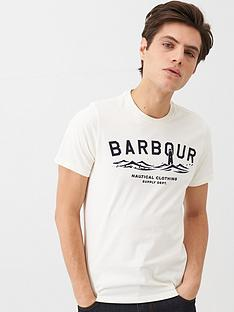 barbour-graphic-t-shirt-white