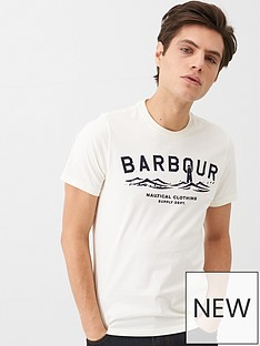 barbour-graphic-t-shirt