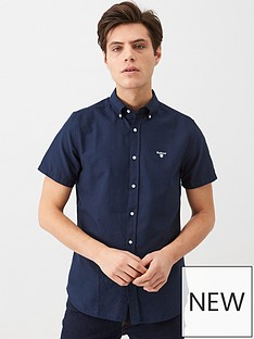 barbour-short-sleeved-oxford-shirt