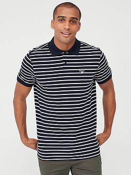 barbour-striped-polo-navy