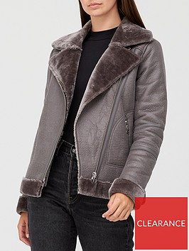v-by-very-faux-shearling-aviator-jacket-grey