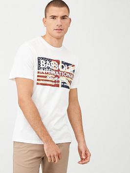 barbour-international-steve-mcqueen-vintage-flag-logo-t-shirt-white