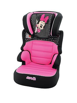 Disney Baby Minnie Mouse Befix Sp Group 2-3 High Back Booster Seat