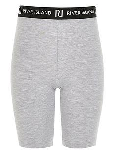 river-island-girls-ri-waistband-cycling-shorts-grey