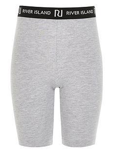 river-island-girls-waistband-cycling-shorts-grey