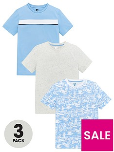 v-by-very-boys-3-pack-palm-print-mottle-and-stripe-short-sleeve-t-shirts-multi