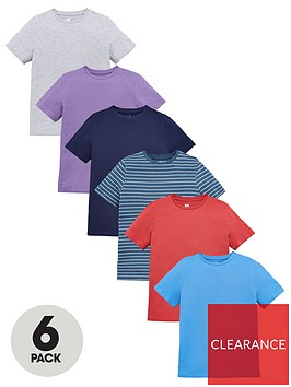 v-by-very-boys-6-pack-core-short-sleeve-tees-multi
