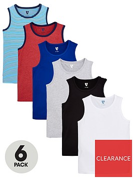 v-by-very-boys-6-pack-core-vests-multi