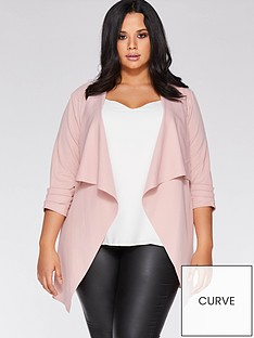 quiz-curve-waterfall-jacket-blush