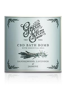 green-stem-cbd-bath-bomb-100mg