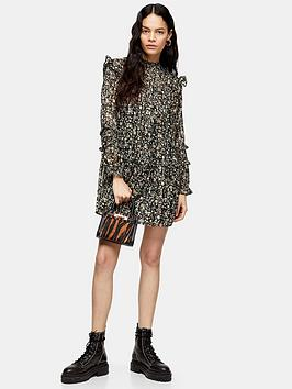 topshop-topshop-lurex-pintuck-mini-dress-monochrome