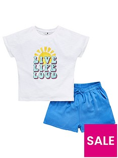 v-by-very-girls-live-life-love-t-shirt-ampnbspshort-set-multi