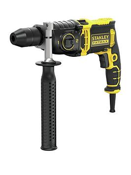 stanley-fatmax-fmeh1100k-gb-1100w-2-speed-corded-impact-drill-amp-kit-box