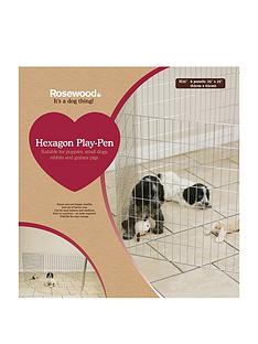 rosewood-hexagon-play-pen