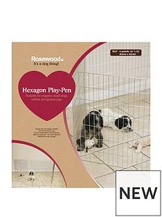 rosewood-hexagon-play-pen