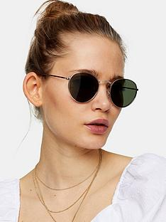 topshop-metro-sunglasses-gold