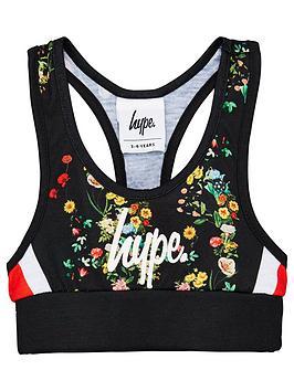 hype-girls-ditsy-floral-bralette-black