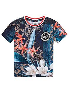 hype-boys-persian-short-sleeve-t-shirt-multi