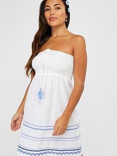 accessorize-nautical-white-rick-rack-bandeau-dress-white