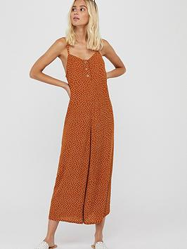 accessorize-spot-jumpsuit-rust