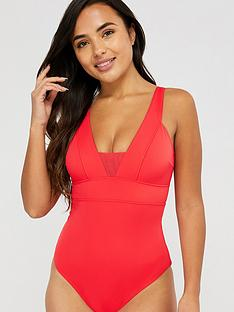accessorize-lexi-mesh-insert-slimming-swimsuit-red