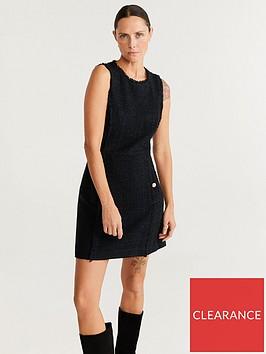 mango-tweed-pinafore-dress-black