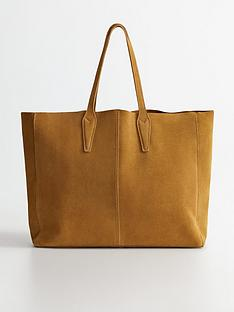 mango-oversized-suede-tote-bag-medium-brown