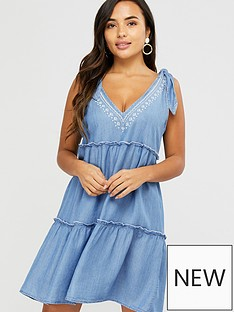 accessorize-bow-tie-tiered-dress-chambray-blue